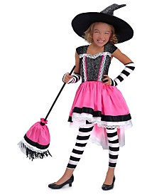 BuySeasons Girl's Luna the Witch Child Costume