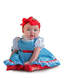 BuySeasons Girl's Wizard Of Oz Dorothy Newborn Child Costume
