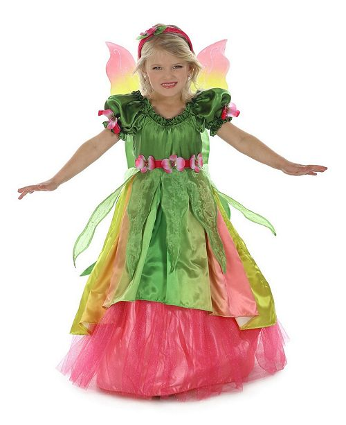 BuySeasons Big Girl's Eden the Garden Princess Child Costume