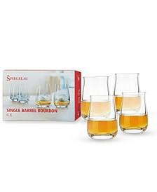 13.25 Oz Single Barrel Bourbon Set of 4