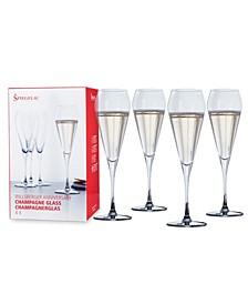 Wills Berger 8.5 Oz Champagne Flute Set of 4