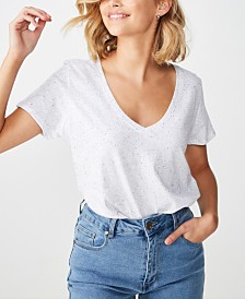 Cotton On The Deep V Top