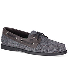Sperry Men's Wool 2-Eye Tailored Boat Shoe