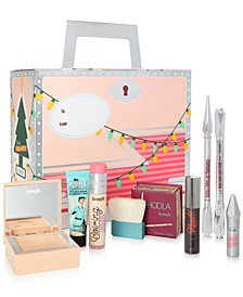 Receive a Free Gift Box and Trial-Size 2-PC. makeup gift with any $45 Purchase! Choice of large or small gift box!