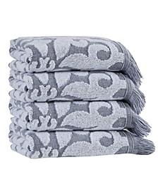 Panache Hand Towels 4-Pc. Set