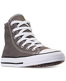 Boys' Chuck Taylor High Top Casual Sneakers from Finish Line