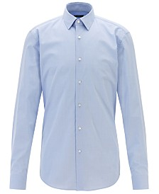 BOSS Men's Isko Checked Slim-Fit Shirt