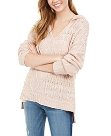Juniors' Multi-Stitch Hoodie, Created For Macy's