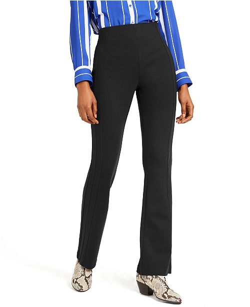 INC International Concepts INC Seamed Ponte-Knit Bootcut Pants, Created For Macy's