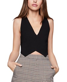 BCBGeneration Tie-Back Crop Top