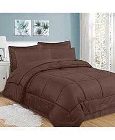 Checkered 8-Pc. King Comforter Set