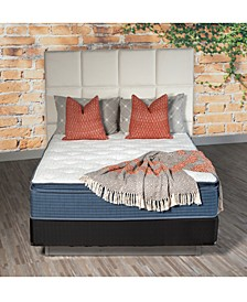 "13"" Plush Pillow Top Mattress Set- Twin"