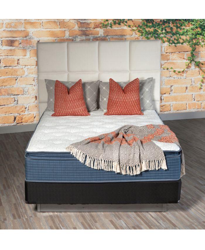 """IGravity 13"""" Plush Pillow Top Mattress Set- Twin & Reviews - Mattresses - Macy's"""