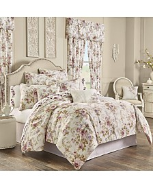 Chambord Lavender California King 4pc. Comforter Set