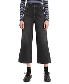 Levi's® Super Wide Leg Cropped Jeans