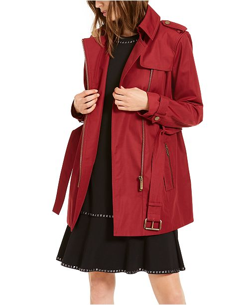 Michael Kors Belted Trench Coat, in Regular & Petite Sizes