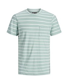 Men's High Summer Short Sleeved Stripe Tshirt
