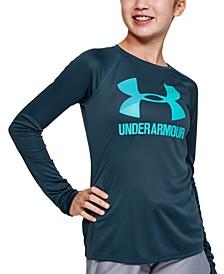 Big Girls UA Tech™ Logo-Print T-Shirt