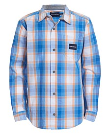 Big Boys Gridscape Plaid Shirt