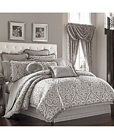 J Queen Luxembourg Queen 4pc. Comforter Set