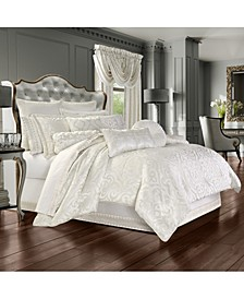 J Queen Cordelia King 4pc. Comforter Set