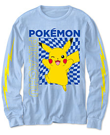 Pokémon Big Boys Pikachu-Print T-Shirt