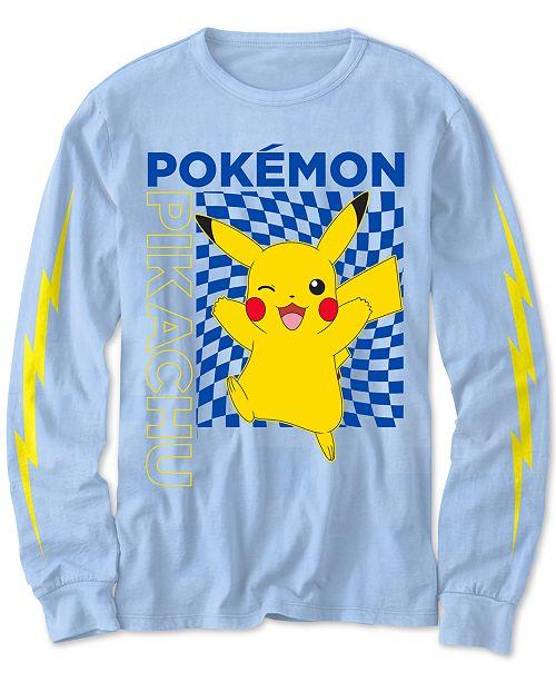Pokemon Pokémon Big Boys Pikachu-Print T-Shirt