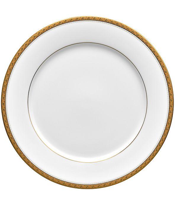 Noritake Charlotta Gold Dinner Plate