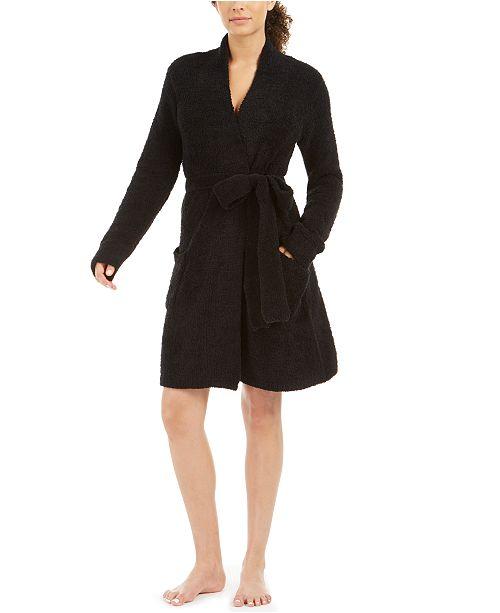 Josie Textured Sweater Knit Short Daydreamer Robe