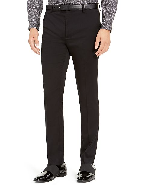 INC International Concepts INC Men's Slim-Fit Stretch Twill Pants, Created For Macy's