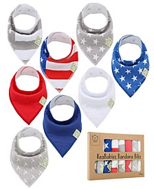 Baby Boys and Girls Bandana Bibs