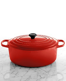 Le Creuset Signature Enameled Cast Iron 9.5 Qt. Oval French Oven