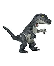 Buy Seasons Men's Jurassic World Velociraptor Inflatable Costume