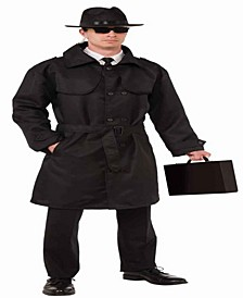 Men's Secret Spy Trench Coat Costume