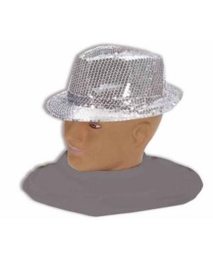 Buy Seasons Men's Silver Fedora Accessory
