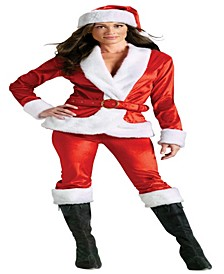 Buy Seasons Women's Mrs. Santa Suit Costume