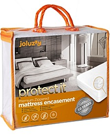 Zippered Mattress Protector Bed Bug Proof, Waterproof, Cotton Surface