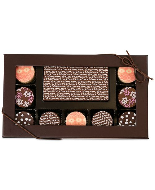 Chocolate Works 10-Pc. I Do Chocolate Truffle Assortment