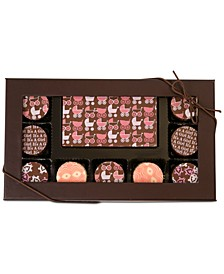 10-Pc. Baby Girl Gourmet Chocolate Truffles