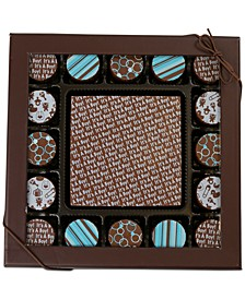 17-Pc. Baby Boy Gourmet Chocolate Truffles