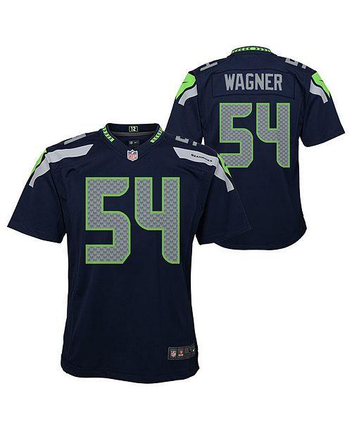Nike Big Boys Bobby Wagner Seattle Seahawks Game Jersey