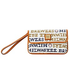 Dooney & Bourke Milwaukee Brewers Milly Wristlet