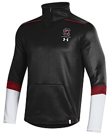 Under Armour Men's South Carolina Gamecocks Team Issue Quarter-Zip Pullover