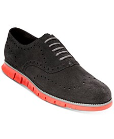 Men's ZERØGRAND Wingtip Oxfords