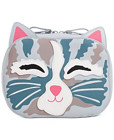 Vera Bradley Iconic Cat Cosmetic Bag