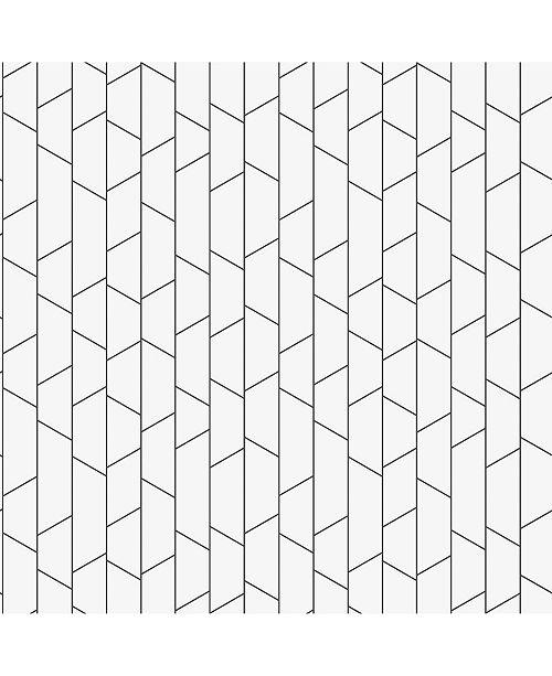 "Engblad & Co Engblad Co 21"" x 396"" Angle Geometric Wallpaper"