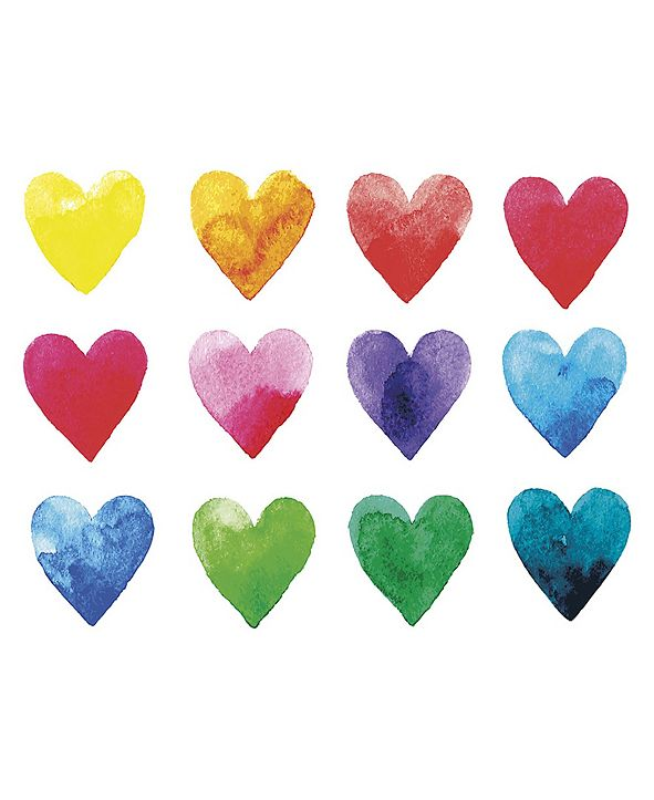 ohpopsi Color My Heart Wall Mural