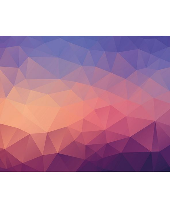 ohpopsi Shades of Geometric Wall Mural