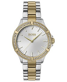 Women's Mini Sport Two-Tone Stainless Steel Bracelet Watch 32mm