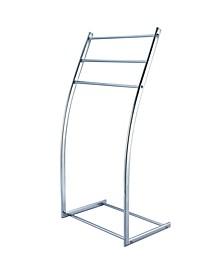 Modern Pedestal Steel Construction Towel Rack